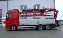 Reichert Servicecenter Referenzen - Aufbau Ladekran
