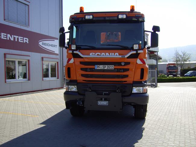 Reichert Servicecenter Referenzen - Winterdienstausrüstung