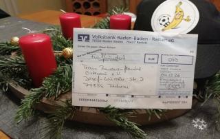 Spendenaktion zu Weihnachten