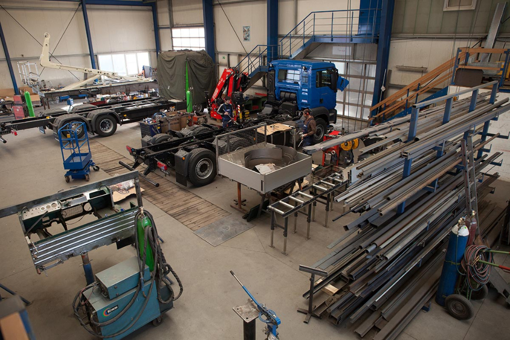 Reichert Servicecenter - Abteilung Fahrzeugbau