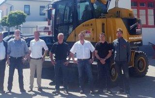 Beratung und Service durch Reichert Servicecenter -  Der Hydrema MX überzeugt auch bei der Josef-Schnell-Gruppe