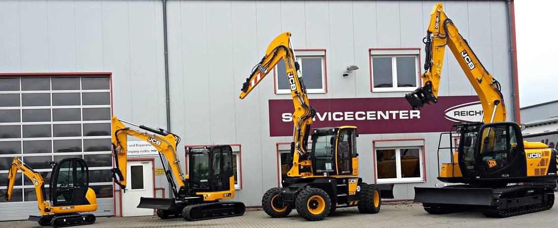 Baumaschinen, Gebrauchtmaschinen - REICHERT Servicecenter