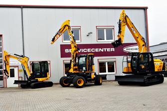 Gebrauchtmaschinen - gebrauchte Grossbagger, Minibagger, Mobilbagger und Radlader - REICHERT Servicecenter