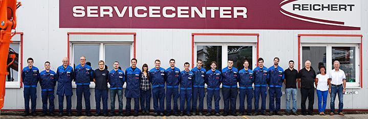 Das Team vom Reichert Servicecenter Sinzheim